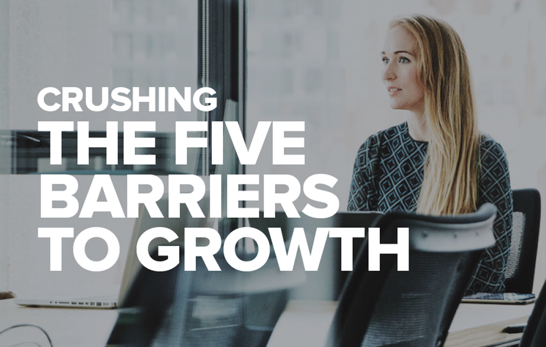 Crushing the five barriers to growth: white paper